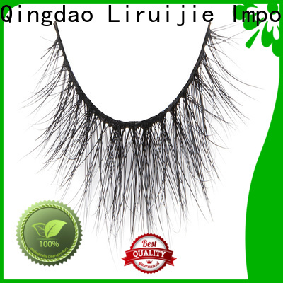 Liruijie Custom mink lashes made from supply for extensions