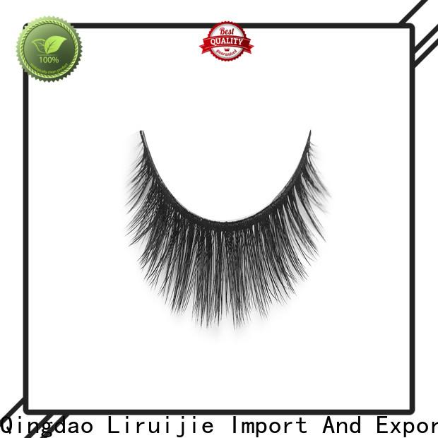 Custom synthetic silk lashes eyelash manufacturers for almond eyes