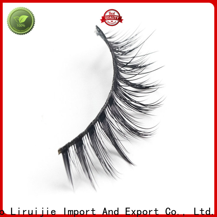 Liruijie eyelash synthetic false eyelashes factory for almond eyes