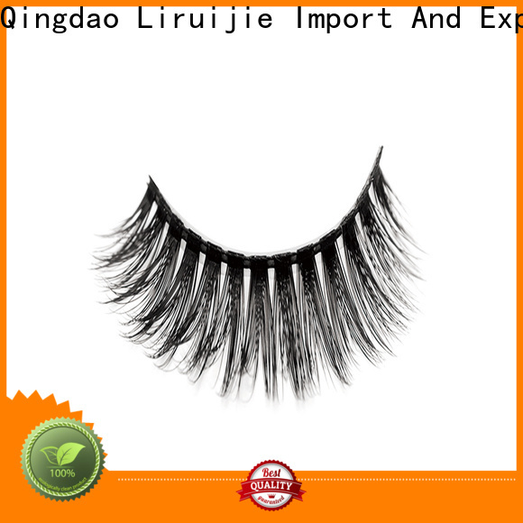 Liruijie lash individual eyelashes wholesale company for round eyes