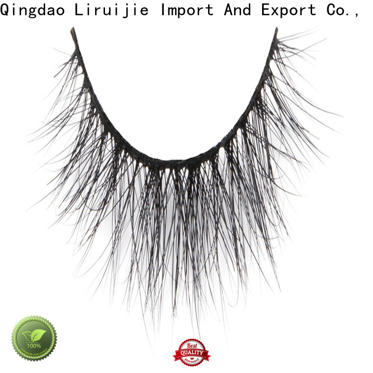 Liruijie New mink lashes salon suppliers for sensitive eyes