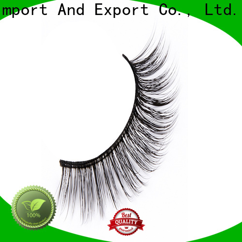 Liruijie faux synthetic false lashes factory for round eyes