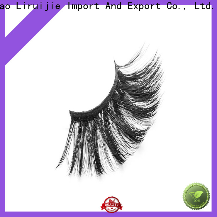 Liruijie magnetic synthetic mink eyelashes suppliers for beginners