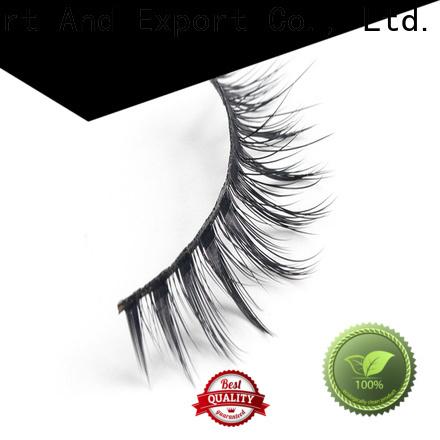 Latest synthetic silk lashes eyelash company for Asian eyes