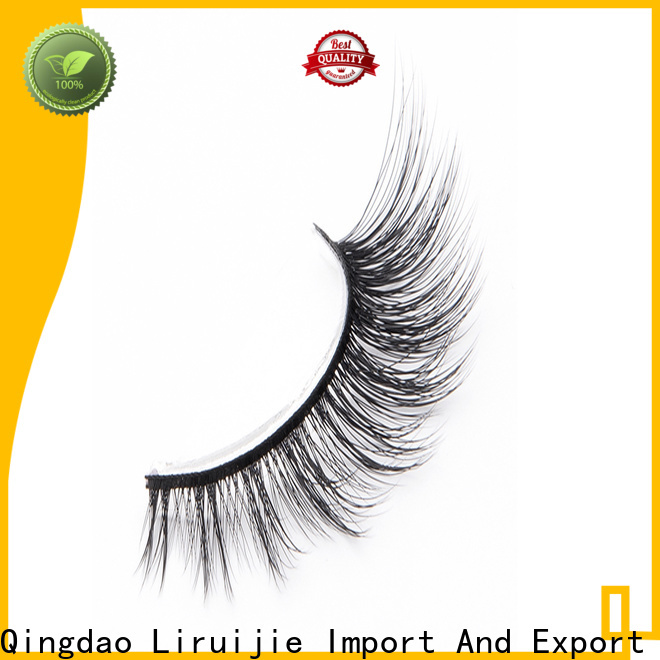 Liruijie eyelash synthetic lashes for business for Asian eyes