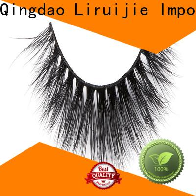 Liruijie Latest fake mink lashes factory for beginners