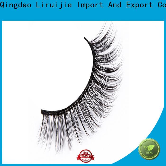 Liruijie Custom synthetic eyelash suppliers manufacturers for almond eyes