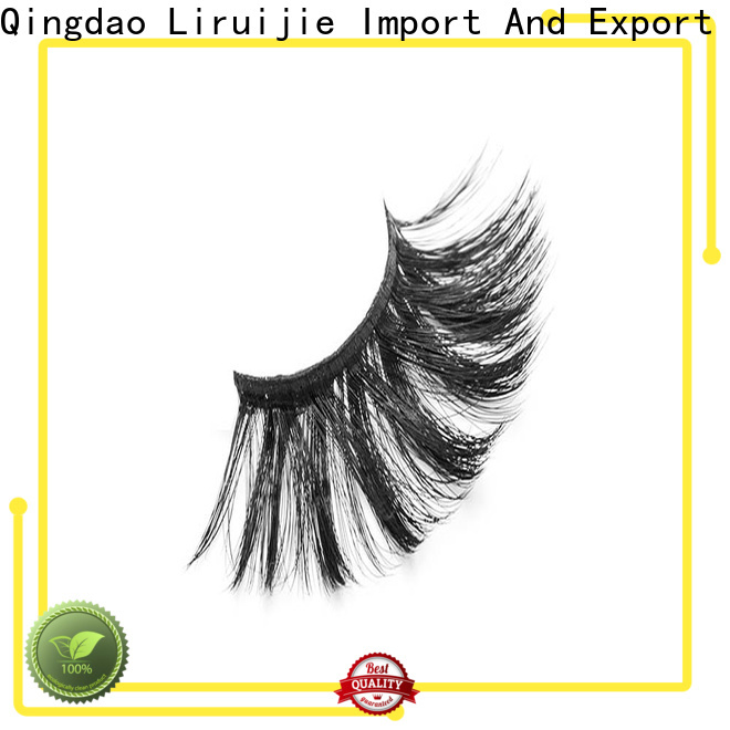 Liruijie Top synthetic false lashes factory for Asian eyes