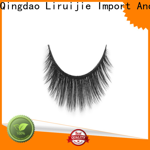 Liruijie fiber synthetic color eyelashes factory for beginners