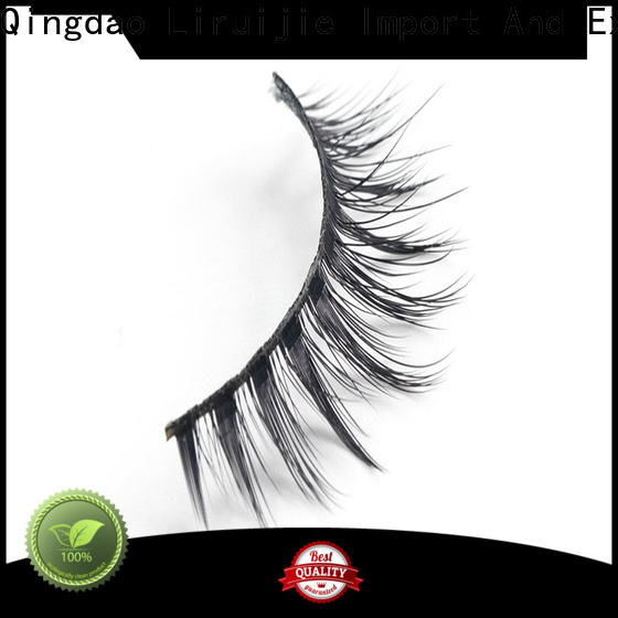 Liruijie Custom eyelashes supplier company for almond eyes