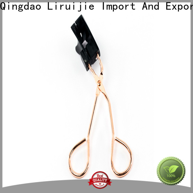 Liruijie false warm eyelash curler factory for beginners