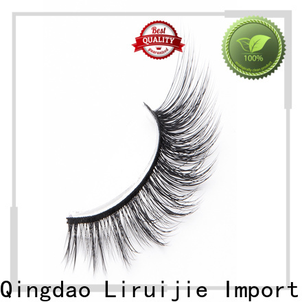 High-quality synthetic color eyelashes mink manufacturers for almond eyes