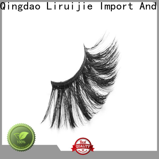 Liruijie Latest best synthetic eyelashes supply for round eyes