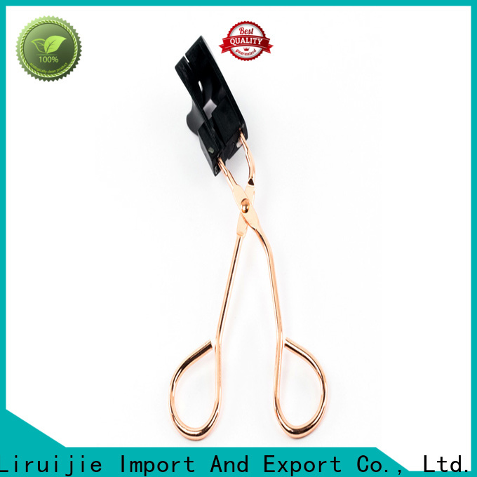 Liruijie lash black eyelash curler suppliers for fake eyelashes