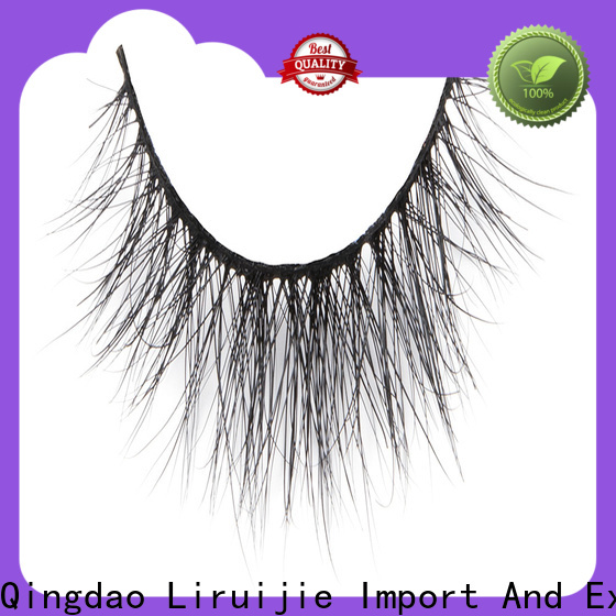 Liruijie Top mink fur lashes wholesale company for beginners