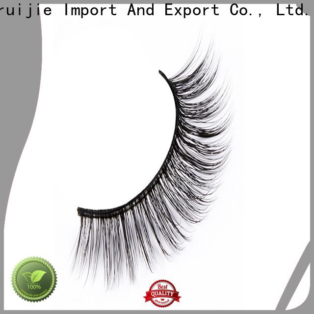 Liruijie Custom synthetic eyelash for business for round eyes