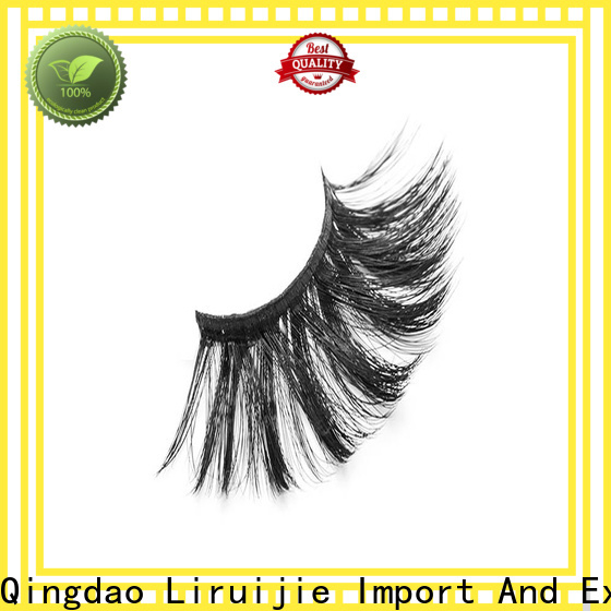 Liruijie series synthetic eyelash suppliers for round eyes