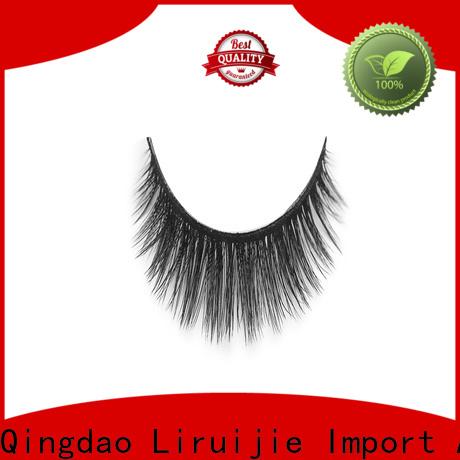 Liruijie Custom synthetic lashes company for Asian eyes