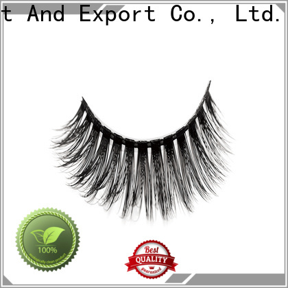 Liruijie mink synthetic eyelash suppliers company for round eyes