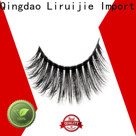 Liruijie High-quality synthetic eyelashes wholesale factory for almond eyes