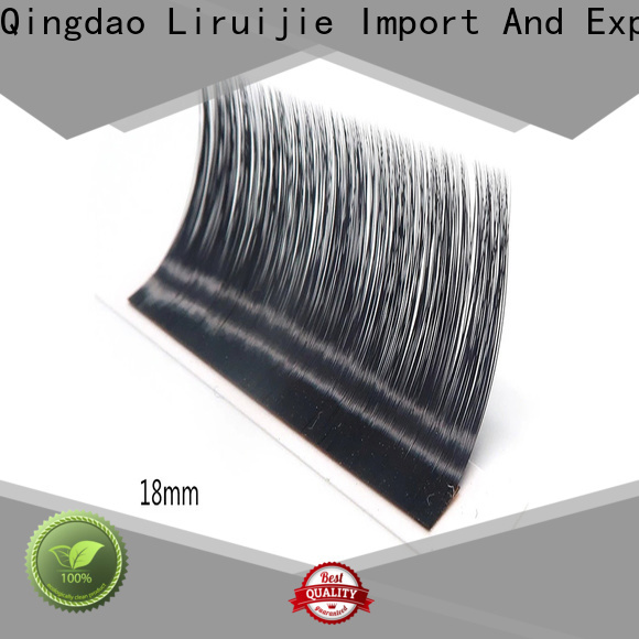 Liruijie High-quality individual eyelash extensions factory for straight lashes