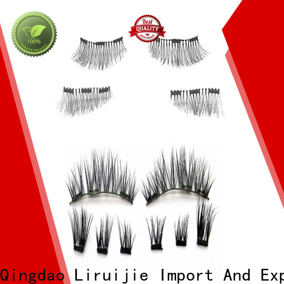 Liruijie eyelash strips wholesale suppliers for almond eyes
