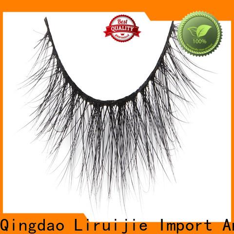 Liruijie mink faux mink false lashes factory for small eyes