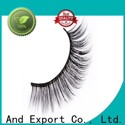 Liruijie faux faux mink synthetic eyelashes suppliers for beginners