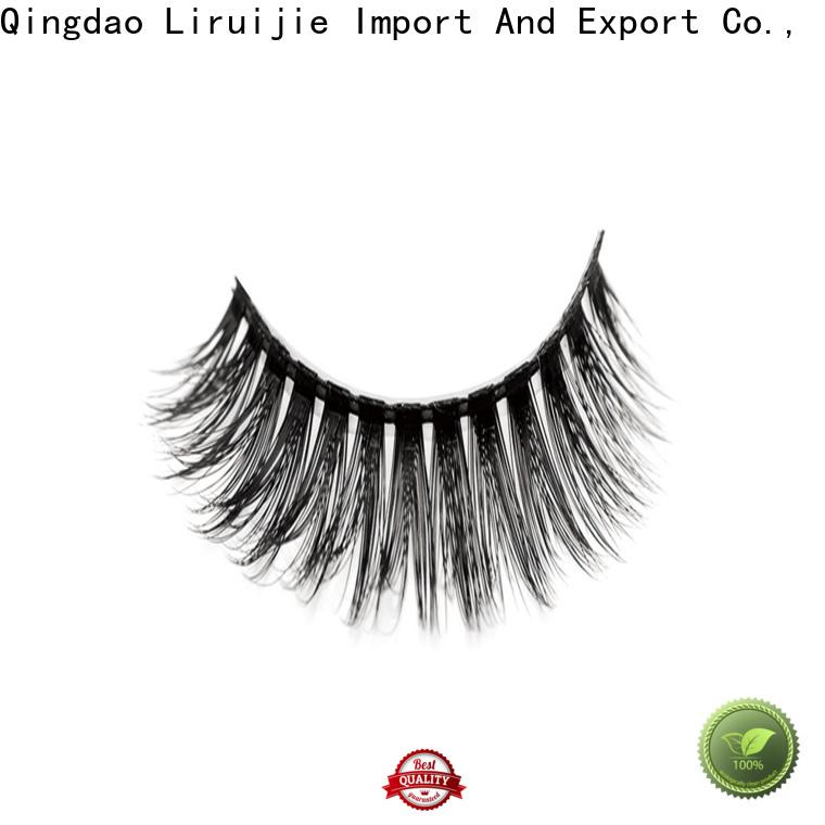 Liruijie fluffy good cheap eyelashes for business for beginners