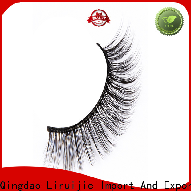 Liruijie costeffective best synthetic eyelashes factory for almond eyes