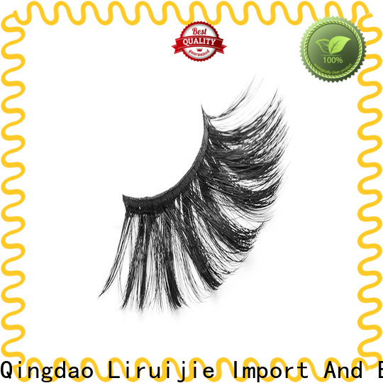 Liruijie costeffective synthetic false eyelashes company for Asian eyes
