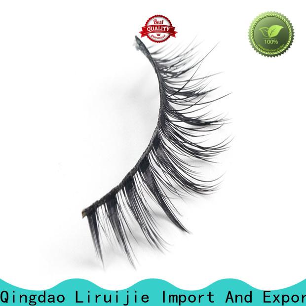 Liruijie wave long lasting false eyelashes for business for round eyes