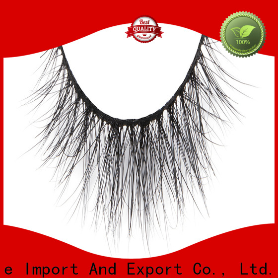 Top fake mink lashes fluffy supply for beginners