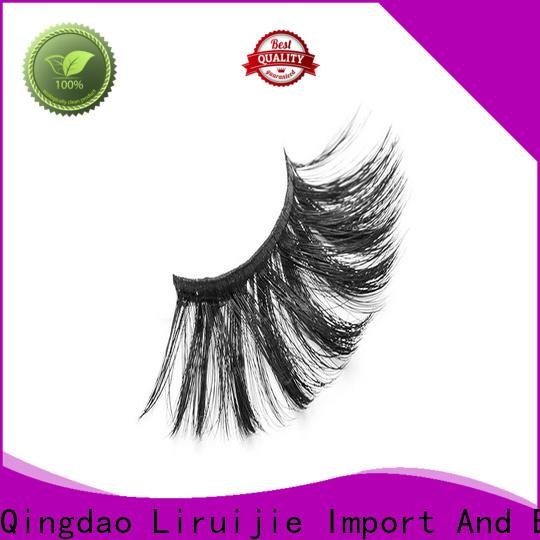 Liruijie yh synthetic eyelash manufacturers for round eyes