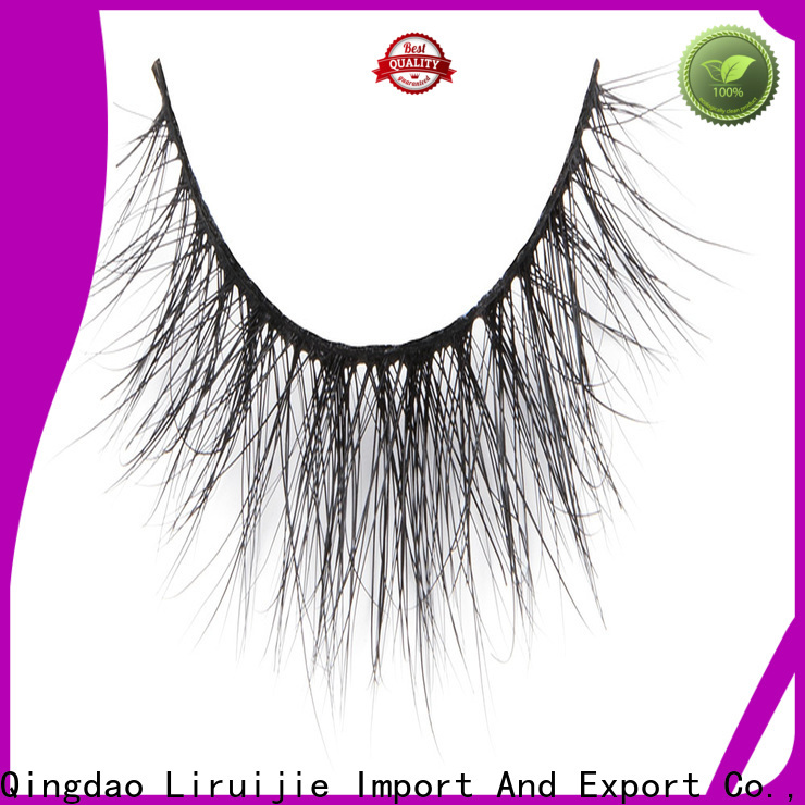 Liruijie eyelash best individual mink lashes for business for beginners
