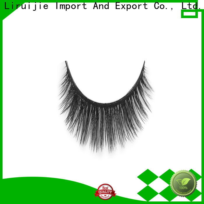 Liruijie 3d eyelashes supplier company for round eyes