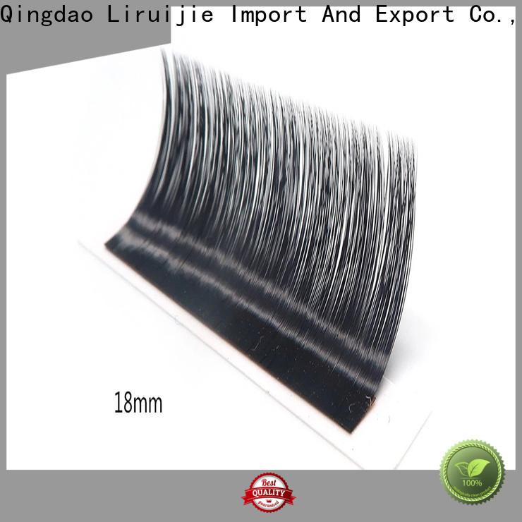 Liruijie real faux mink eyelash extensions wholesale suppliers for beginners