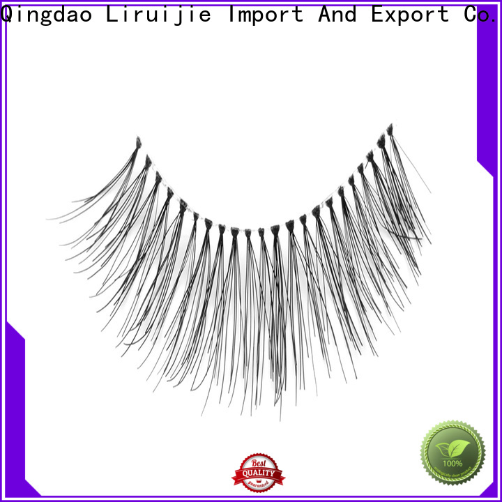 Liruijie New mink eyelash extensions suppliers suppliers for round eyes