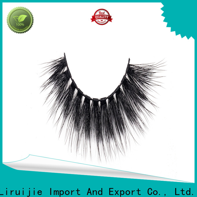 Liruijie Latest best synthetic eyelashes factory for Asian eyes