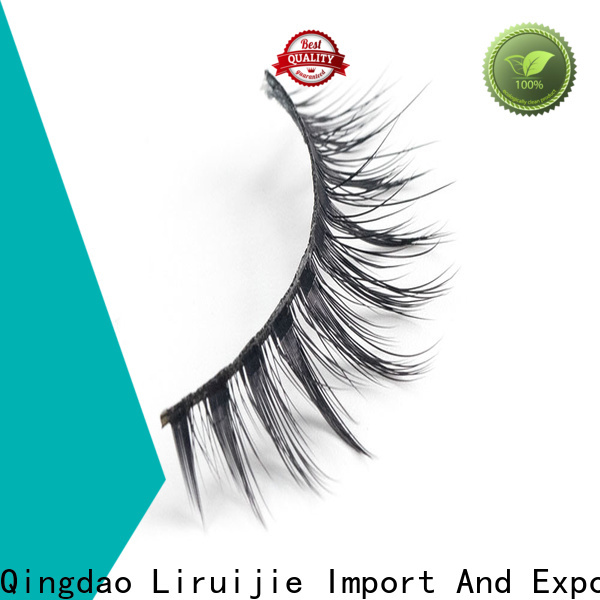 Custom best synthetic lashes eyelash company for round eyes