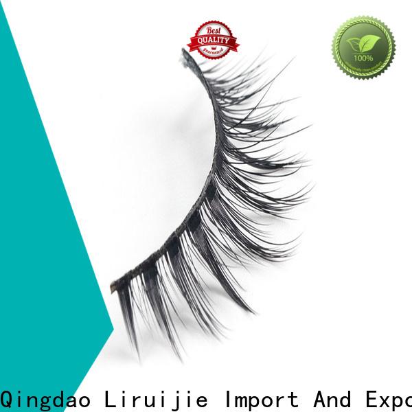 Custom best synthetic lashes eyelash company for round eyes