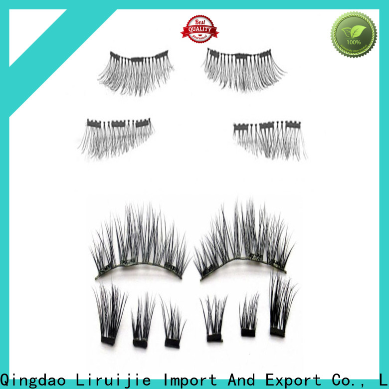 Latest most natural eyelash extensions supply for almond eyes