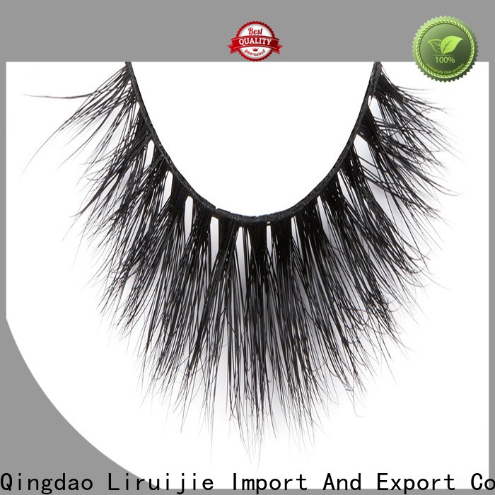 Liruijie series full mink lashes suppliers for sensitive eyes