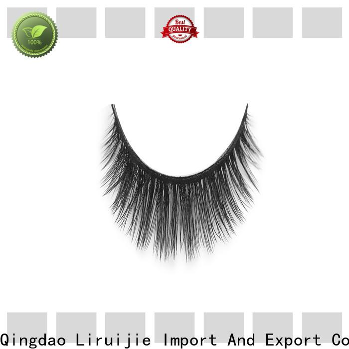 Liruijie yh long lasting false eyelashes factory for almond eyes