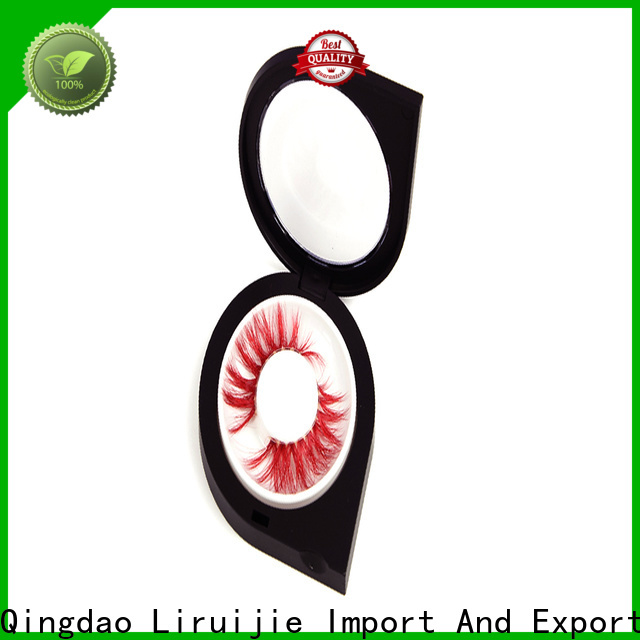 Liruijie Wholesale mink lashes wholesale private label supply for mink eyelashes