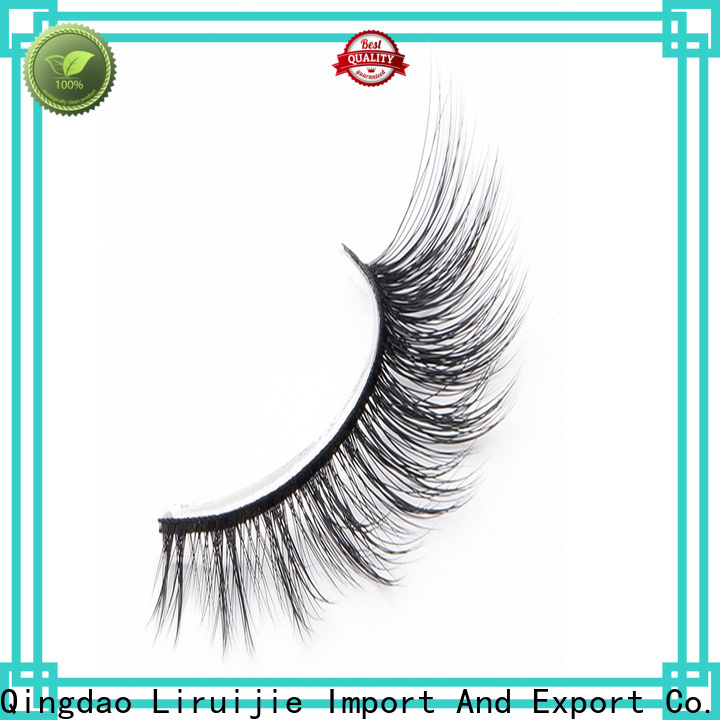 Liruijie Wholesale best synthetic lashes for business for Asian eyes