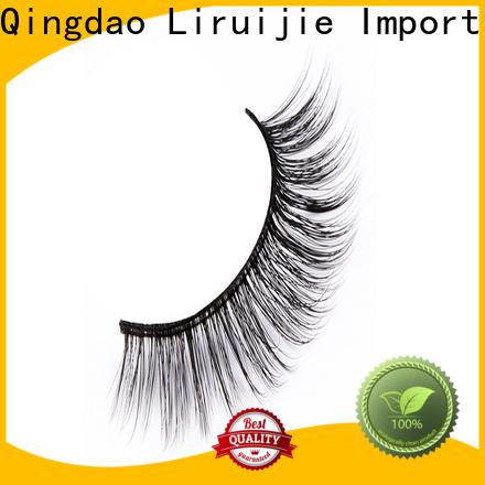 Liruijie fiber fake eyelashes wholesale manufacturers for beginners