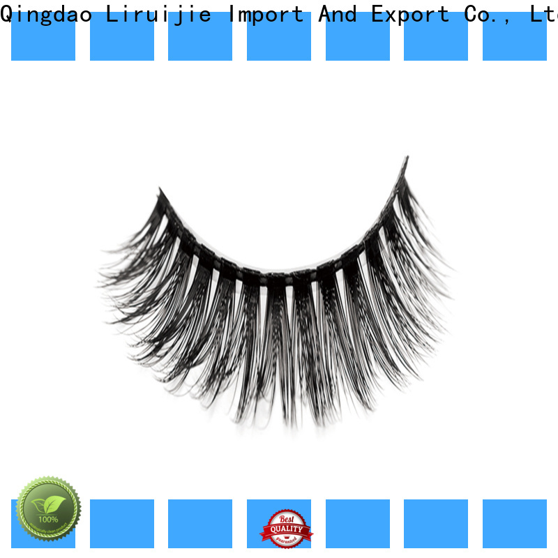 Liruijie New synthetic color eyelashes company for almond eyes