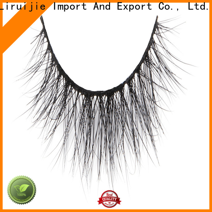 Liruijie fake affordable mink eyelashes manufacturers for extensions