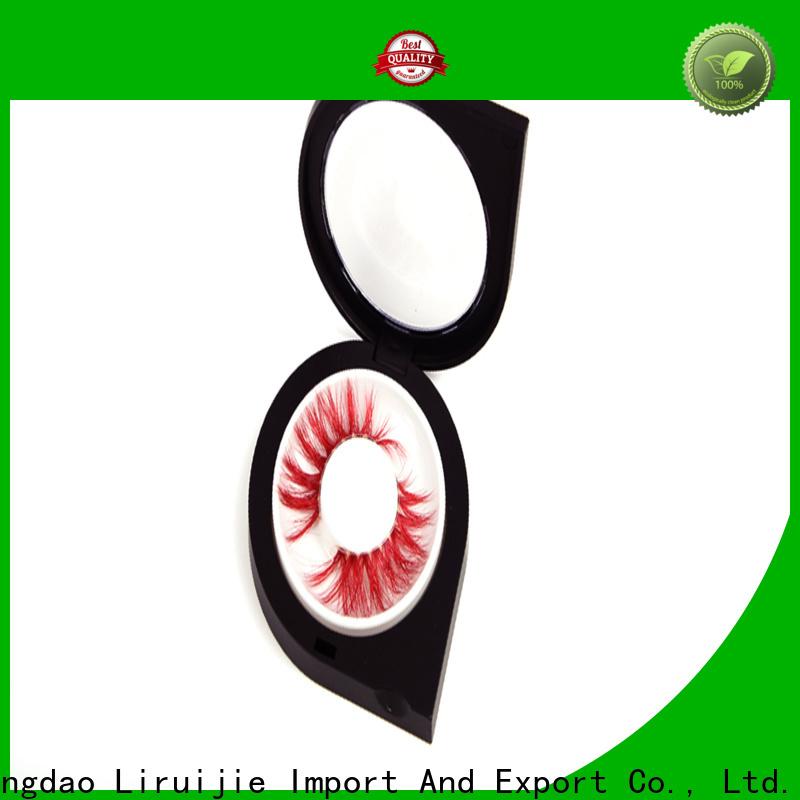 Liruijie box fake eyelashes wholesale company for eyelash extensions